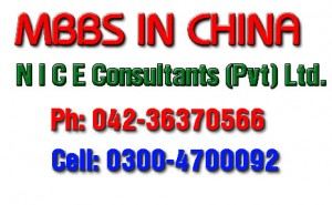MBBS  in China Scholarship 2013, 2014